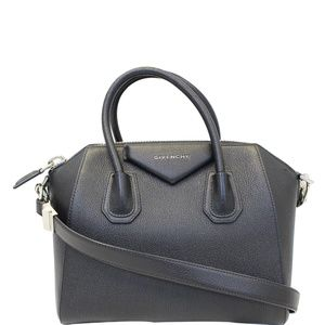 GIVENCHY ANTIGONA SMALL GOATSKIN LEATHER SHOULDER